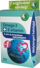 Omega-3 + E-vitamin 1000mg 30 db kapszula (Dr. Chen)